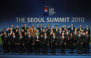 """Family Picture"" - G20 Summit Seoul 2010"