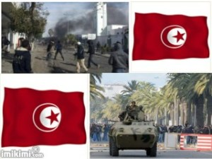 Riots in Tunisia