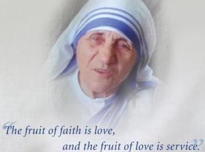 Mother Teresa Love