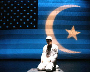 Muslim Intense US-FLAG (c) Right Side News