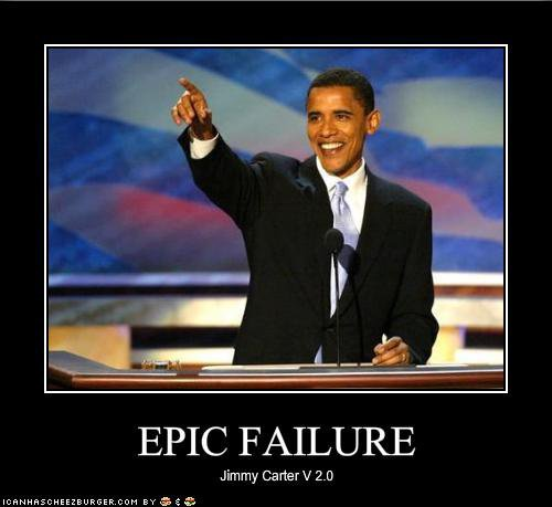Obama - epic failure